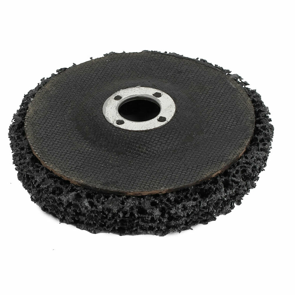 Paint Rust Remover Abrasive Sanding Cleaning Discs Black 100mmx16mmx13mm Ebay