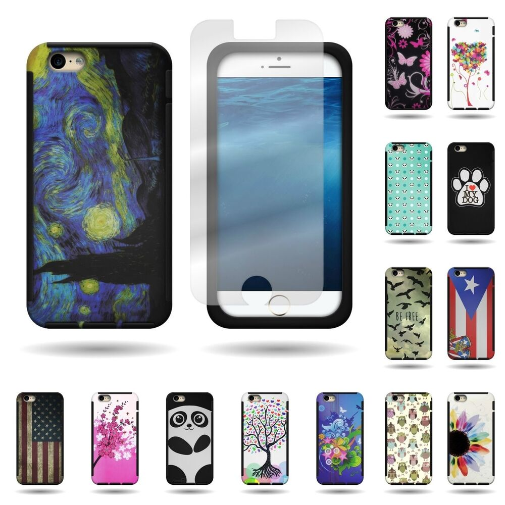 unique iphone cases unique design phone hybrid cover for apple iphone 6s 9387