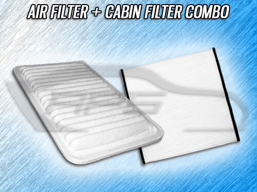 air filter cabin filter combo for 2002 2003 2004 2005 2006 toyota camry ebay. Black Bedroom Furniture Sets. Home Design Ideas