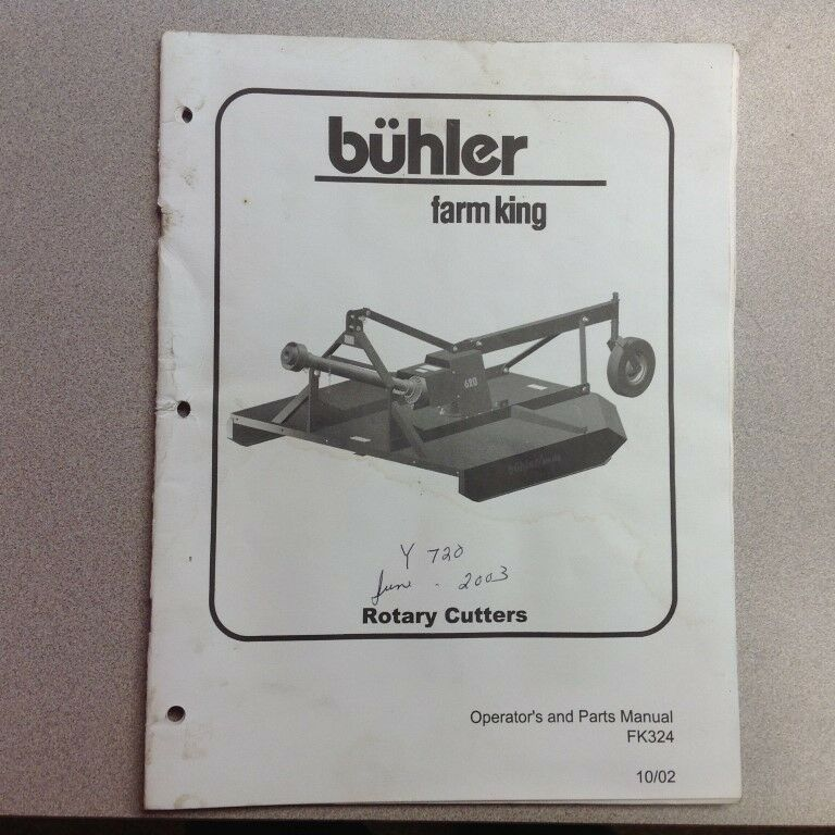 King Kutter rotary cutter manual