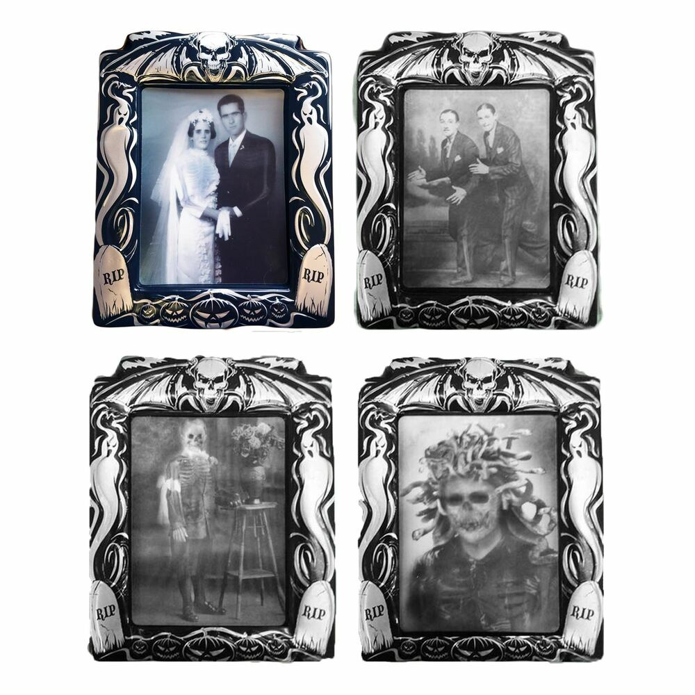 Holographic changing picture photo portrait halloween Vintage halloween decorations uk
