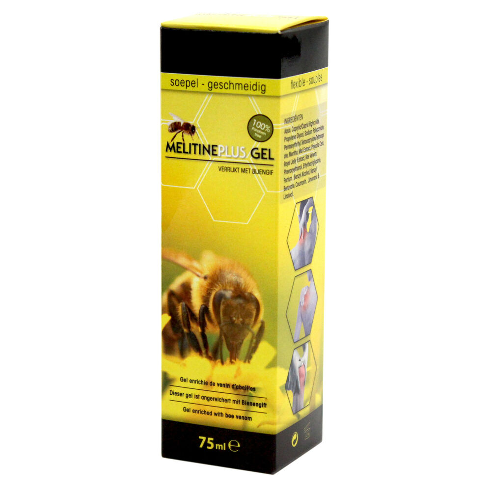 melitine plus sport gel creme mit bienengift 75ml salbe gelenke muskel ebay. Black Bedroom Furniture Sets. Home Design Ideas