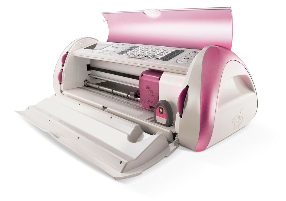Cricut pink expression machine library fonts cartridge ebay for Cricut lettering machine