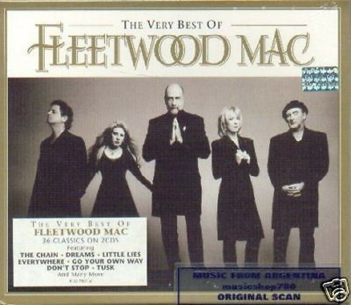 The Very Best Of Fleetwood Mac Remastered Fleetwood Mac: FLEETWOOD MAC VERY BEST SEALED 2 CD SET GREATEST HITS