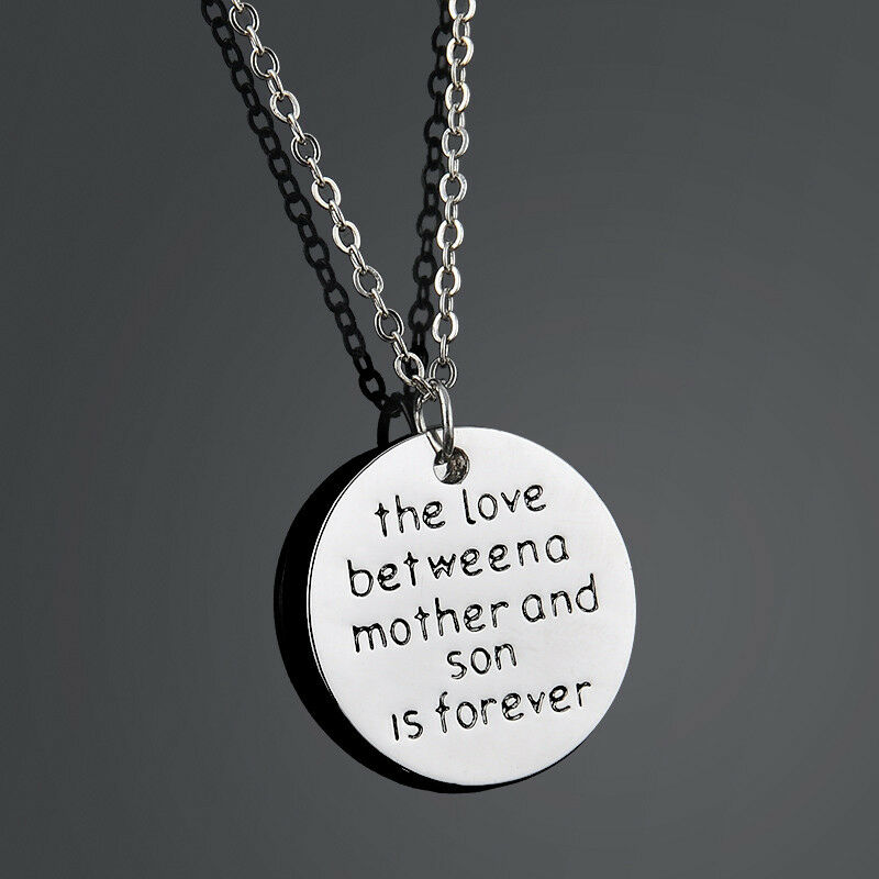 Family Necklace Pendant Gift The Love Between Mother and ...