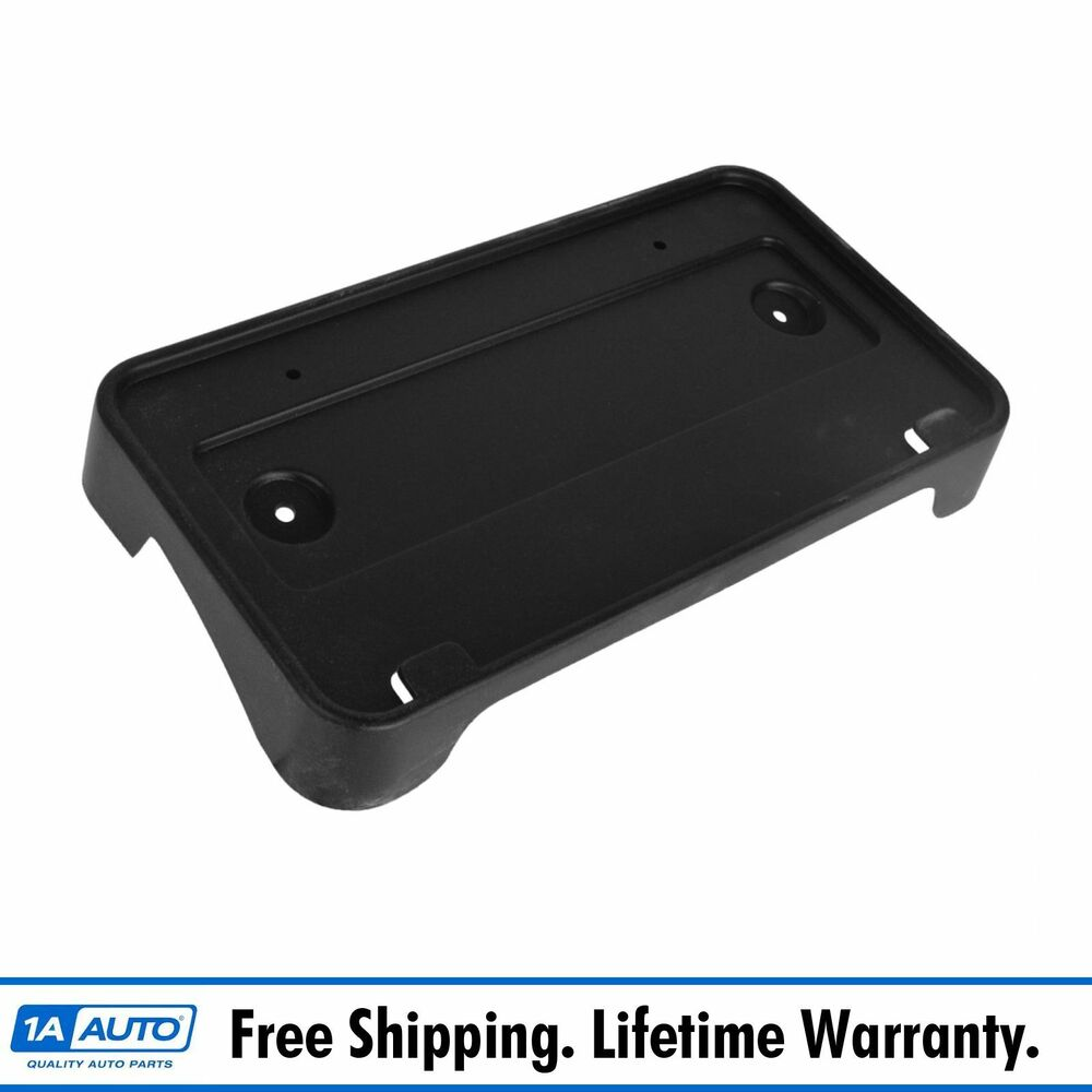 Oem License Plate Mounting Bracket Front Bumper Mounted