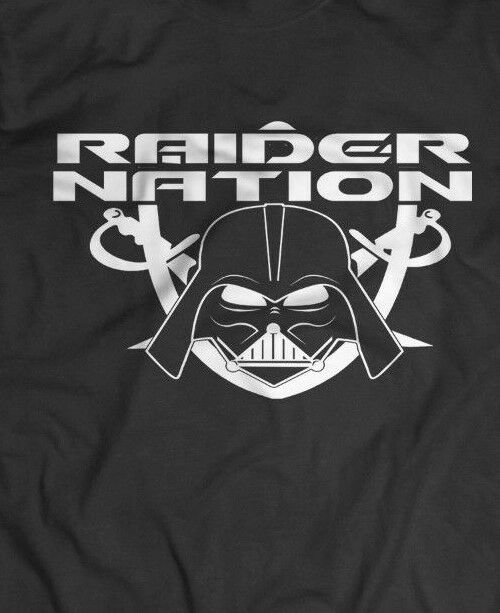 OAKLAND RAIDERS BLACK HOLE CUSTOM ***BO JACKSON*** Mens T ...