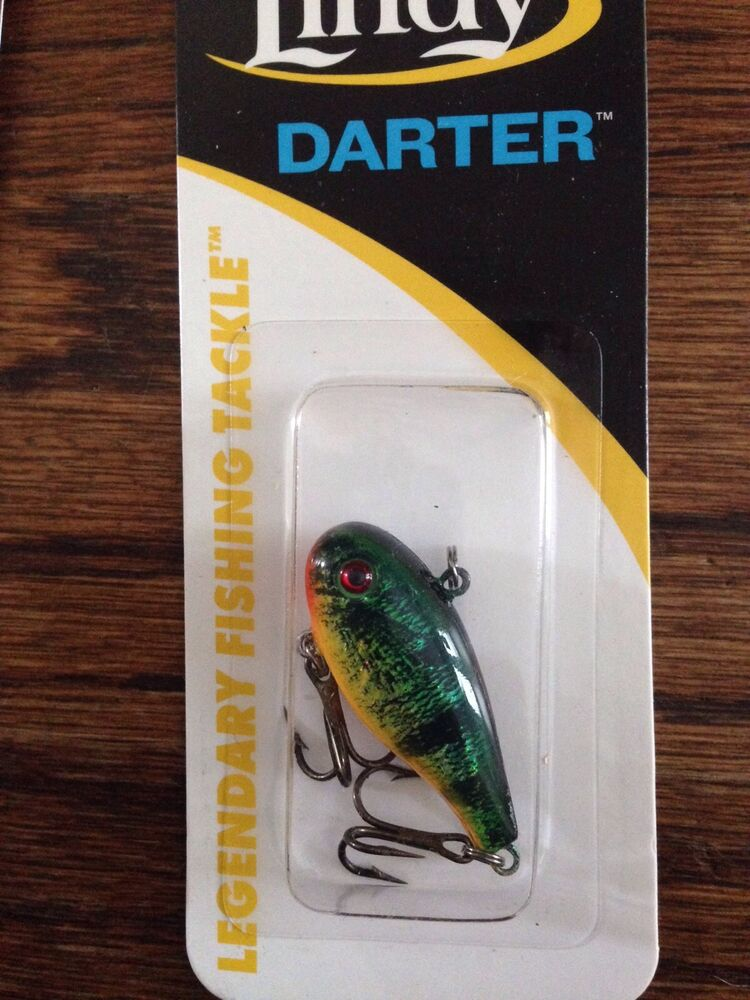 Lindy darter jig ice crappie rattle bait 1 1 3 1 8oz for Ice fishing bait