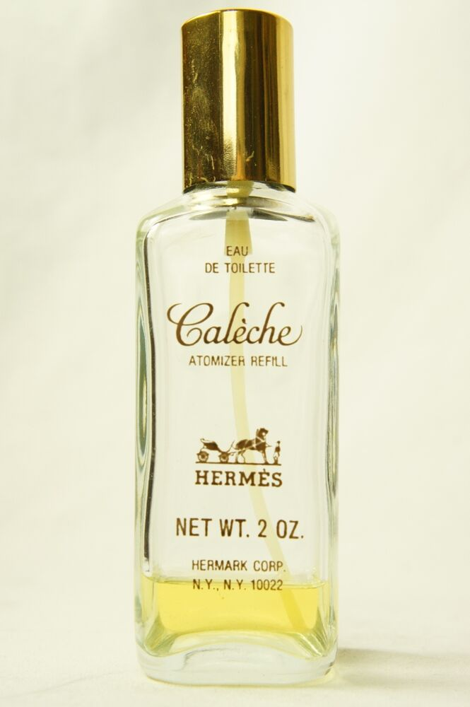 vtg caleche hermes perfume spray eau de toilette 2 oz 10 full 170556035280 ebay. Black Bedroom Furniture Sets. Home Design Ideas