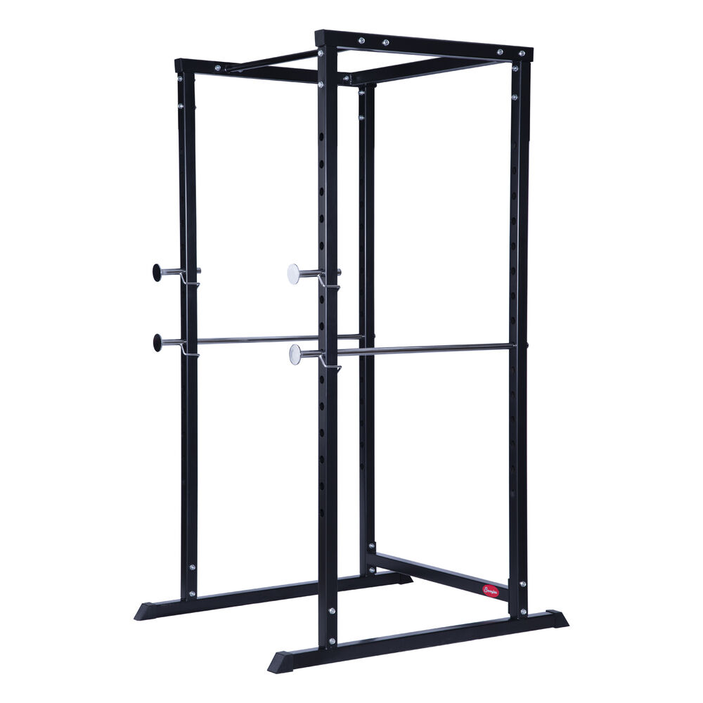 Power Rack With Weights: New Soozier Strength Training Power Squat Rack Safety Bars
