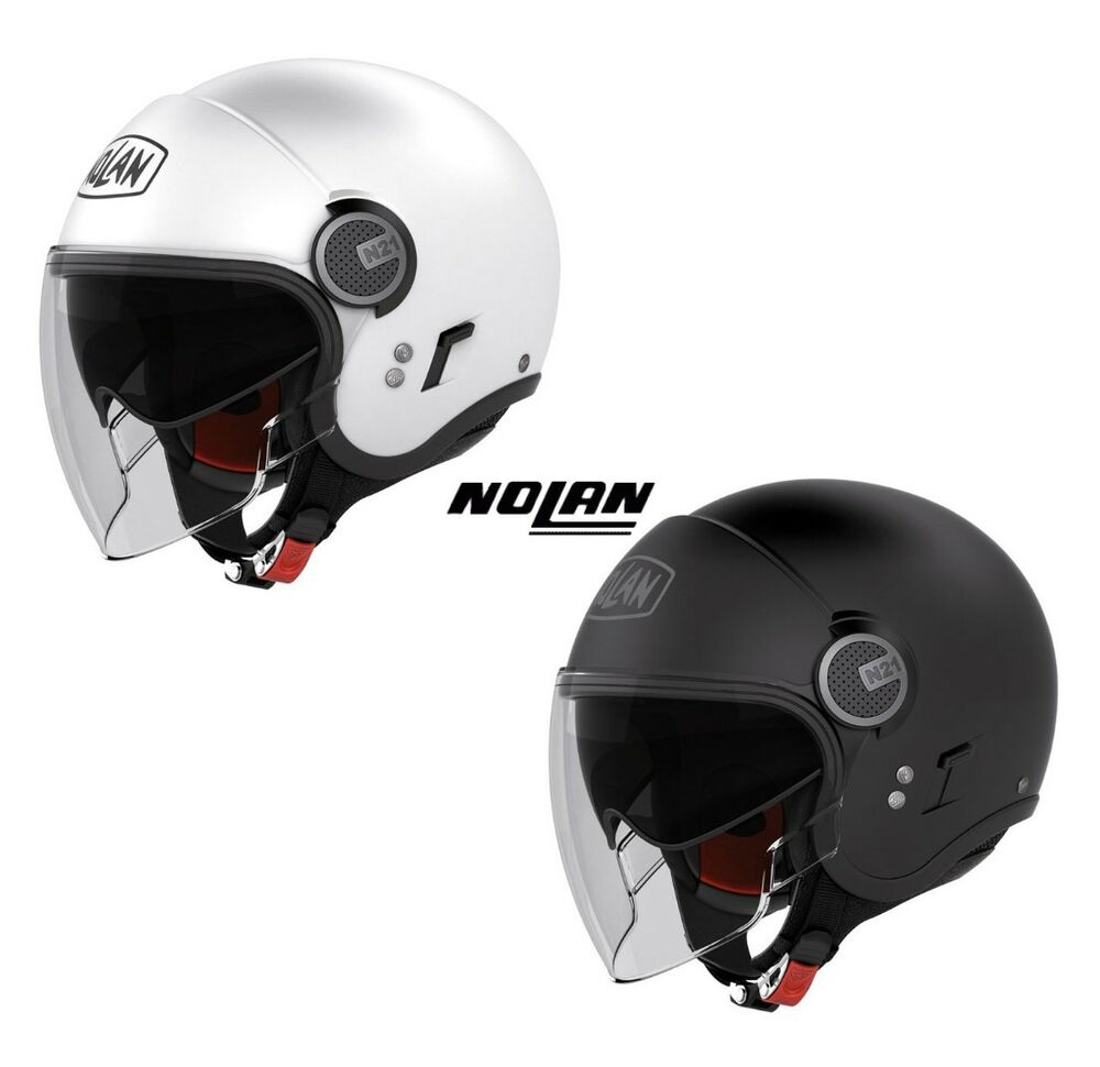 casque jet nolan n21 classic visor moto vespa xlite neuf casco helm helmet ebay. Black Bedroom Furniture Sets. Home Design Ideas