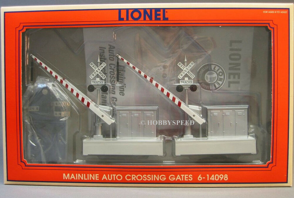 Lionel Mainline Auto Crossing Gates Train Intersection O