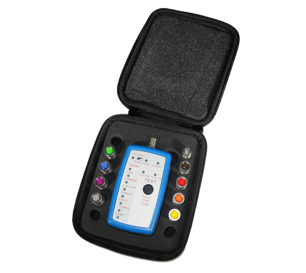 Vericom 8 Way Coax Cable Locator Mapper Tracer Finder