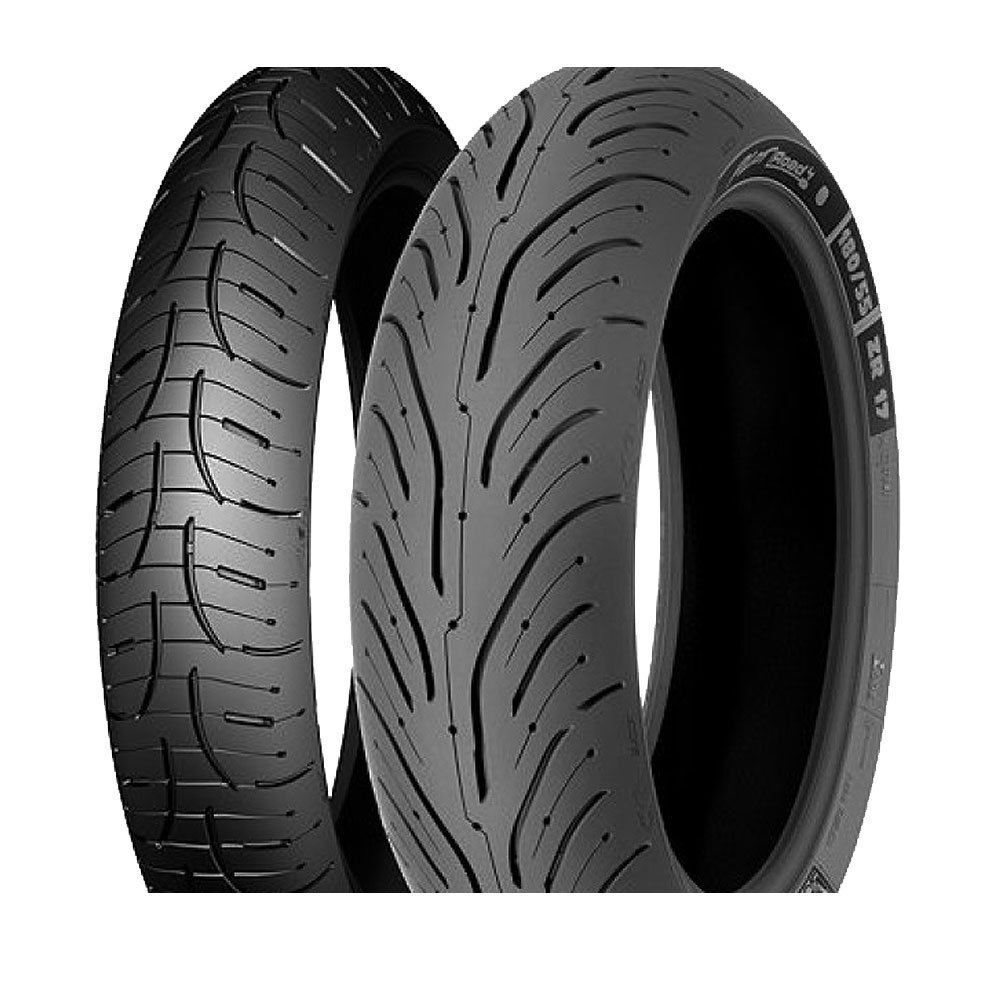 michelin pilot road 4 motorcycle tyre pair 120 70 zr17 and. Black Bedroom Furniture Sets. Home Design Ideas