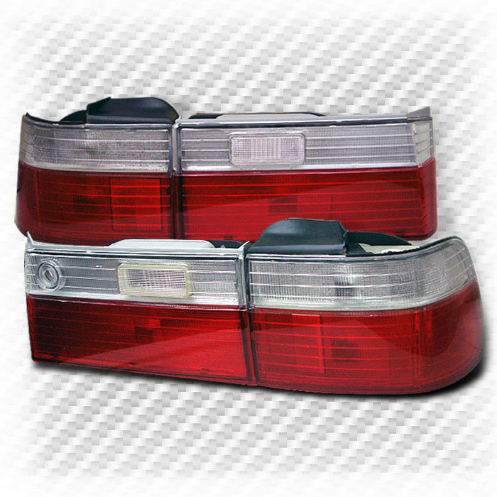 for 1990 1991 honda accord 4 door altezza tail lights lamp. Black Bedroom Furniture Sets. Home Design Ideas