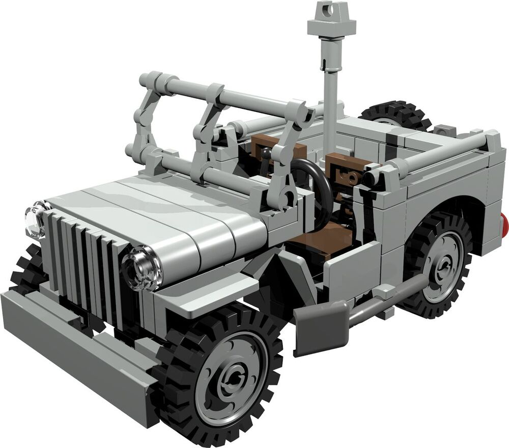 CUSTOM Building INSTRUCTION WILLYS JEEP MILITARY POLICE