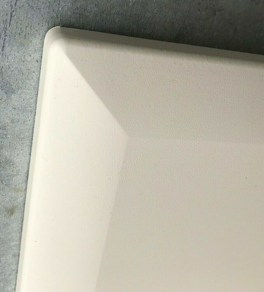 Chamfered ivory cream kitchen doors for makeover facelift for Cheap kitchen unit doors