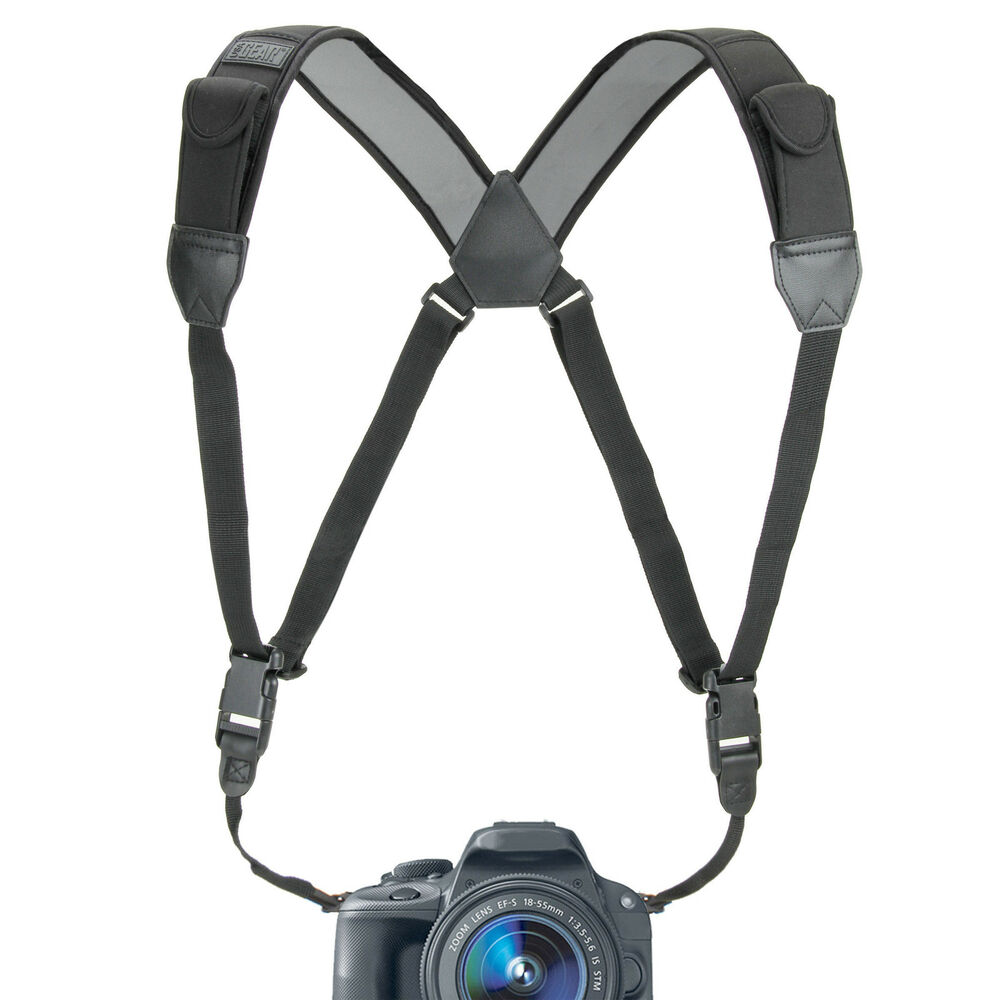 how to put on a camera strap