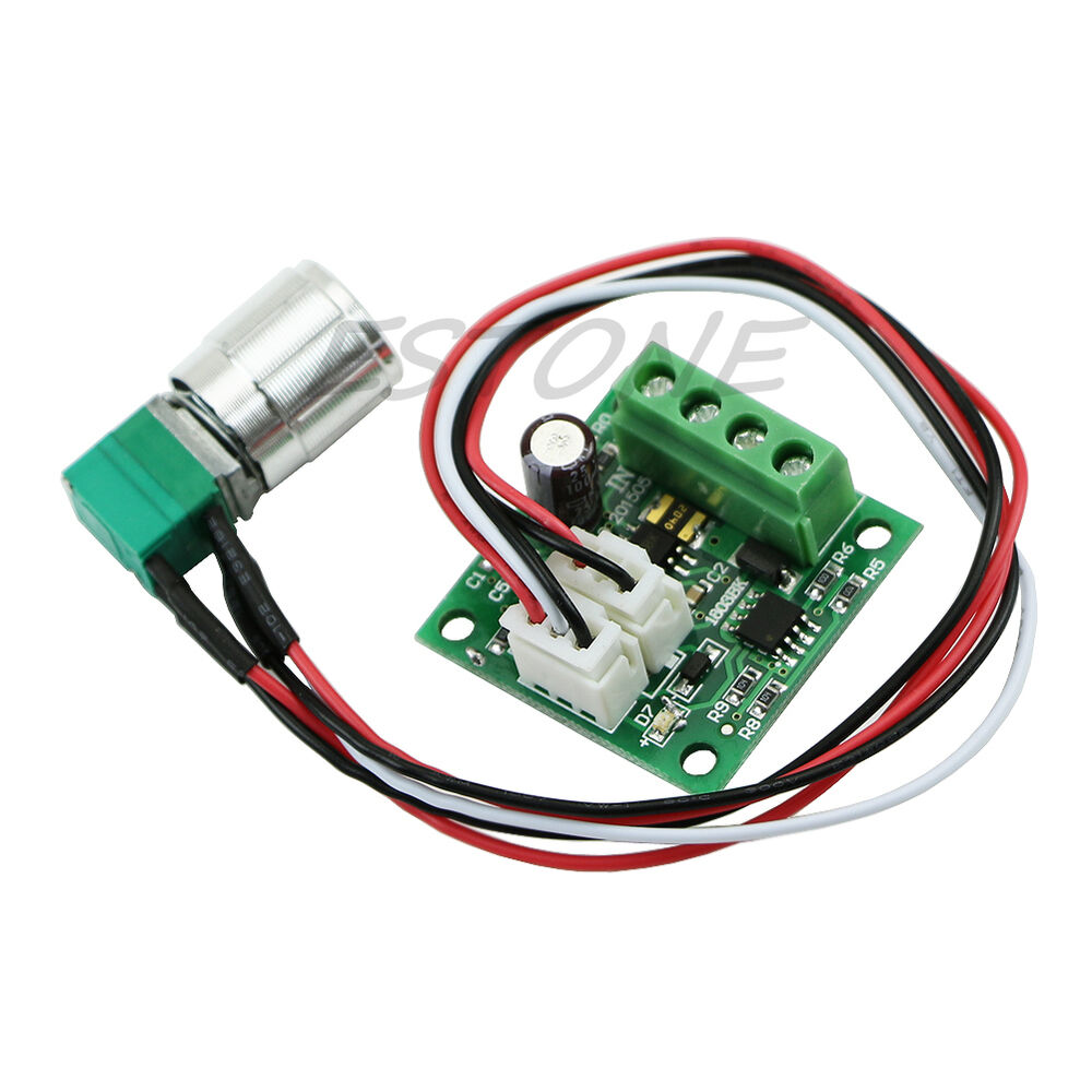 1 8v 5v 6v 12v 2a switch variable speed regulator dc motor for Two speed motor control