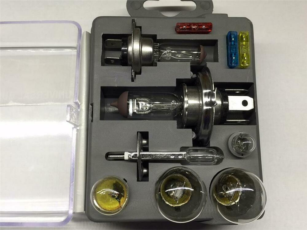 Replacement Blown Auto Bulb Kit H1 H4 H7 380 382 501 207