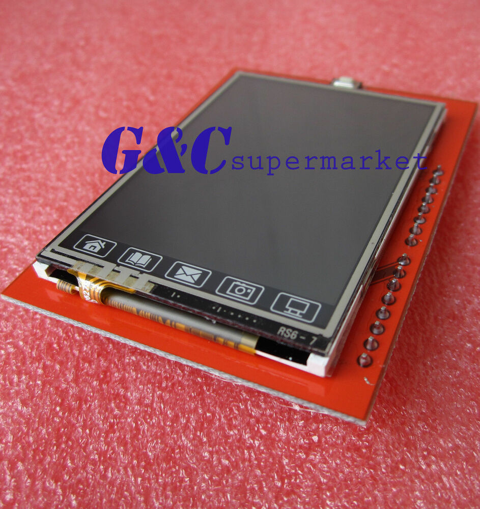 Quot tft lcd shield touch panel module tf micro sd for