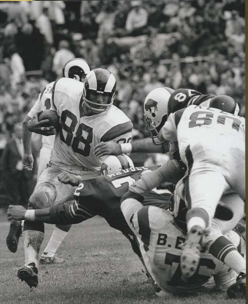 Pat Curran Los Angeles Rams 1969 74 San Diego Chargers