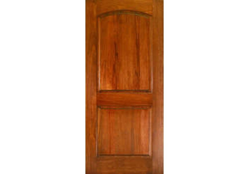 Etodoors Interior 32 Quot X 96 Quot Solid Mahogany 2 Panel Arched