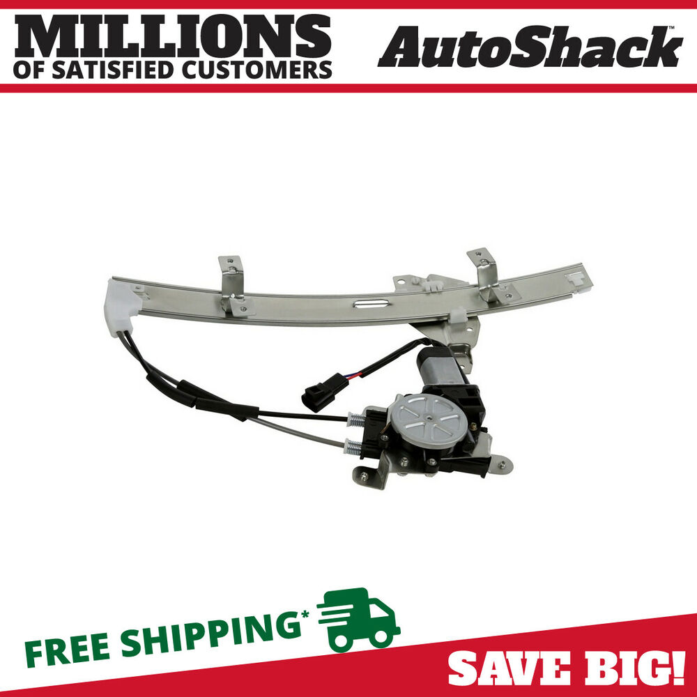 New window regulator w motor front passenger side for Window motor and regulator cost