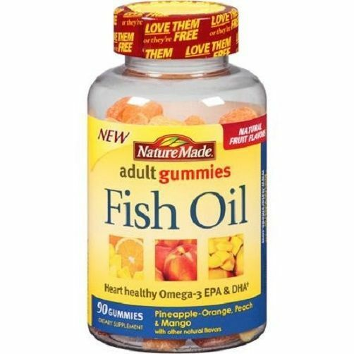 Nature made fish oil adult gummies ebay for How is fish oil made