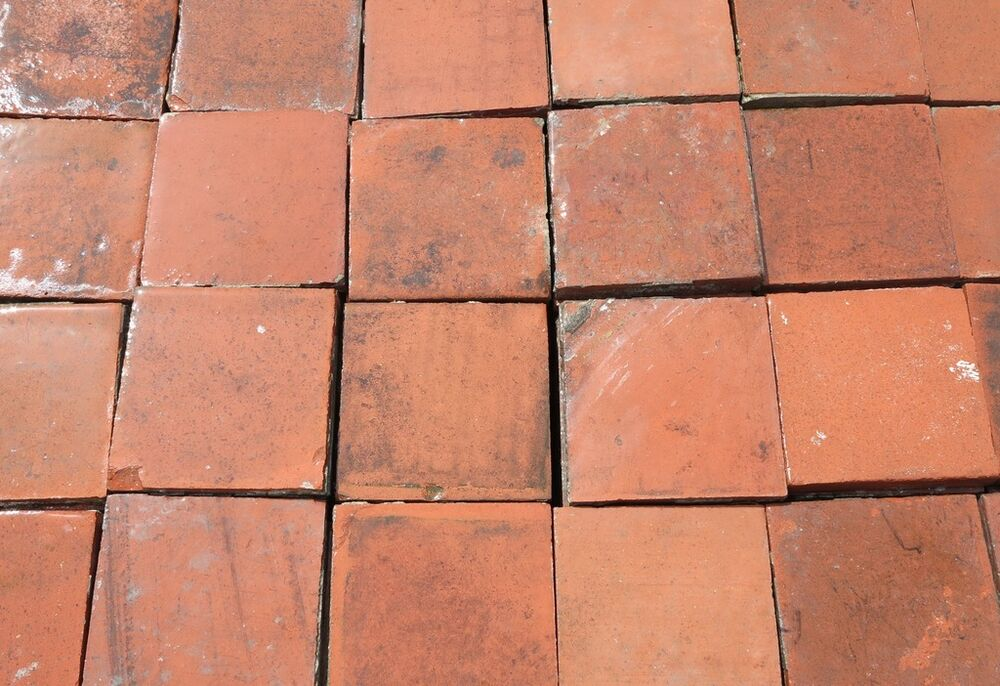Reclaimed Terracotta Quarry Floor Tiles Quarries