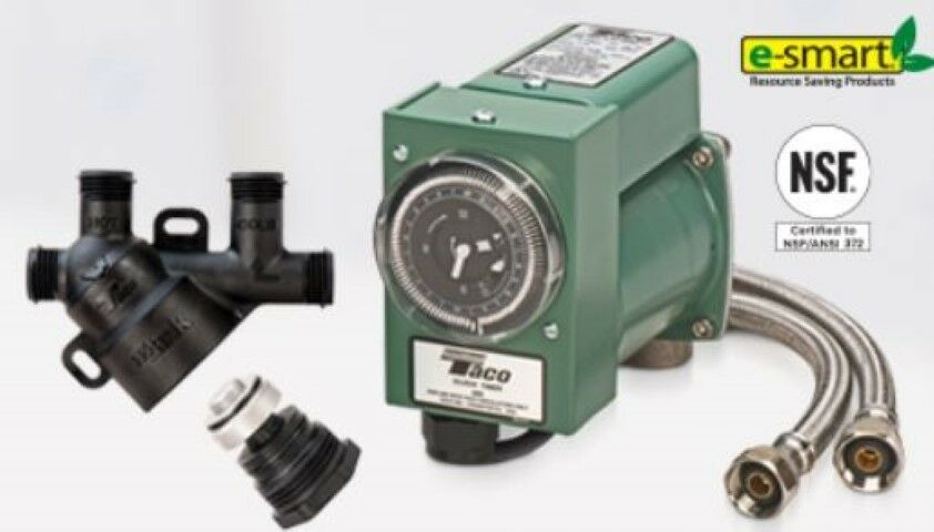 Taco hls 1 hot link domestic instant hot water for Pros and cons of hot water recirculating pump