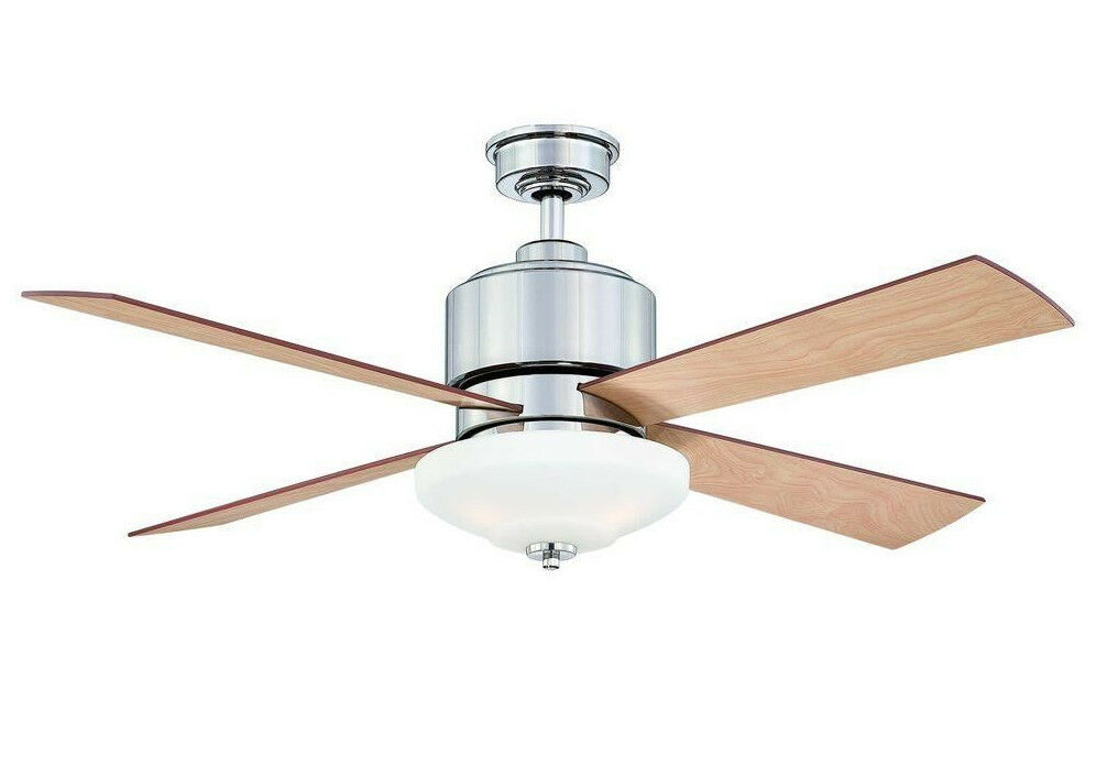 Hampton Bay Alida 52 In. Liquid Nickel Ceiling Fan With