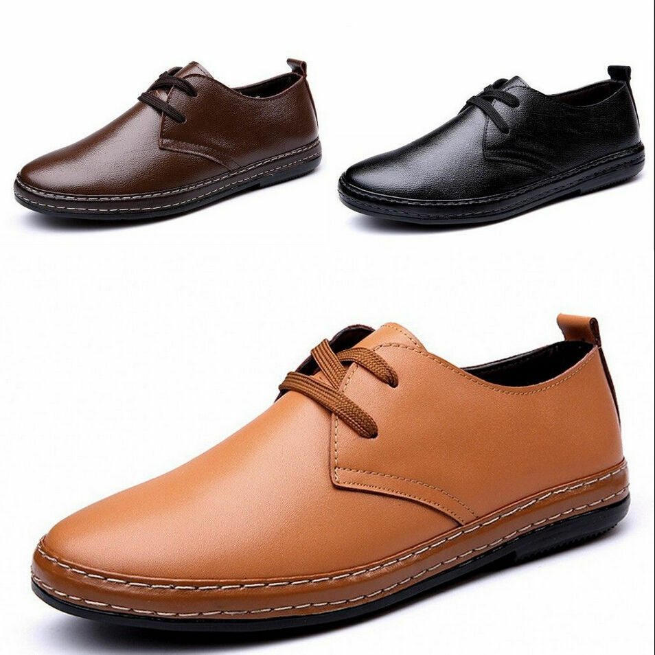 new european style leather shoes s oxfords casual