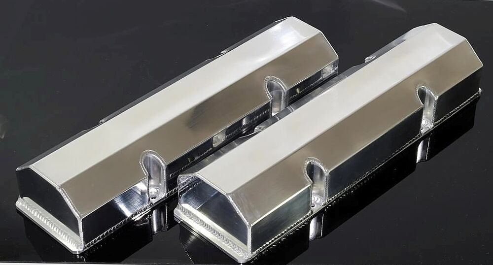 Sbc Chevy Fabricated Tall Aluminum Valve Covers No Acc