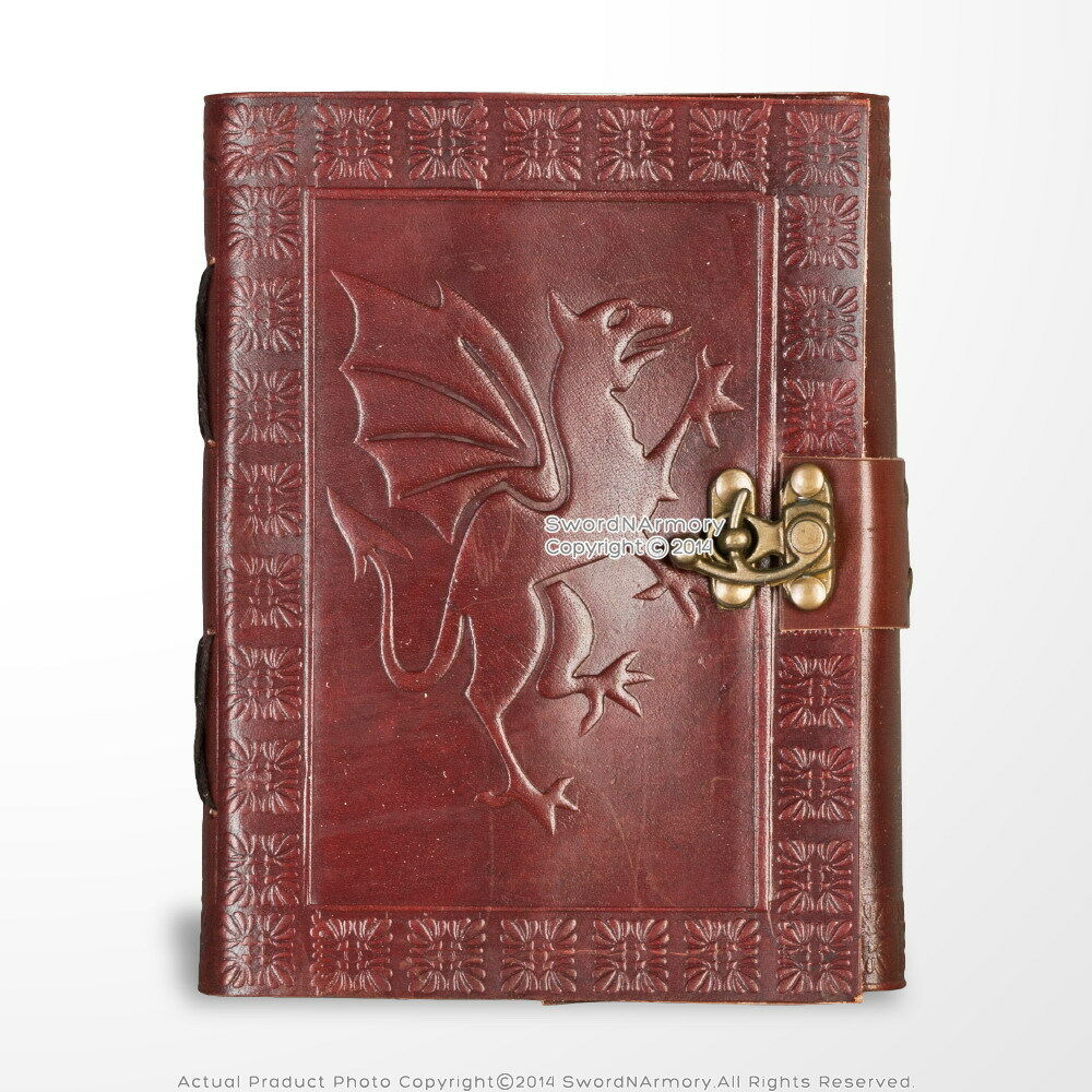 Medieval Genuine Leather Journal Diary Parchment Paper