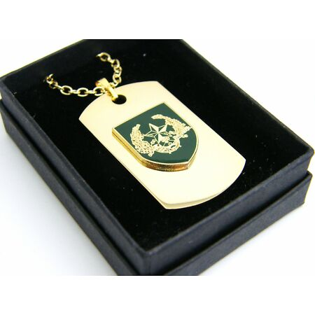 img-THE CAMERONIANS BADGE DOG TAG PENDANT MILITARY GIFT IN BOX