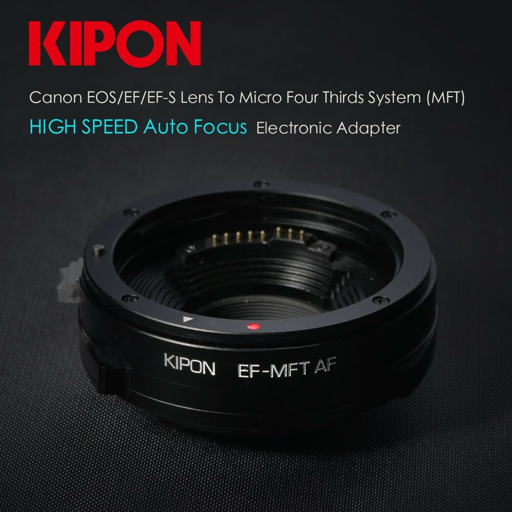 Micro 4 3 To C Mount Adapter 24v Adapter Price In India Macbook Pro Ethernet Adapter Usb Vga Adapter Ebay: Kipon Auto Focus AF Canon EOS EF Lens To Micro 4/3 Adapter