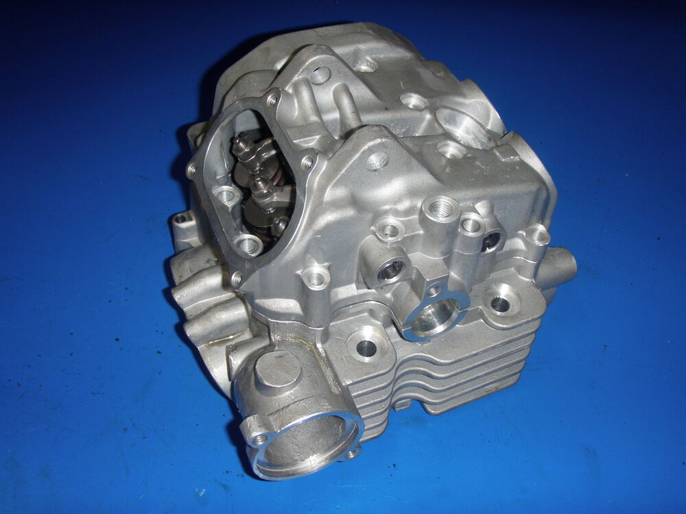 Yamaha Grizzly 660 >> YAMAHA GRIZZLY/RHINO 660 CYLINDER HEAD COMPLETE WITH VALVES/CAM NEW ASSEMBLED | eBay