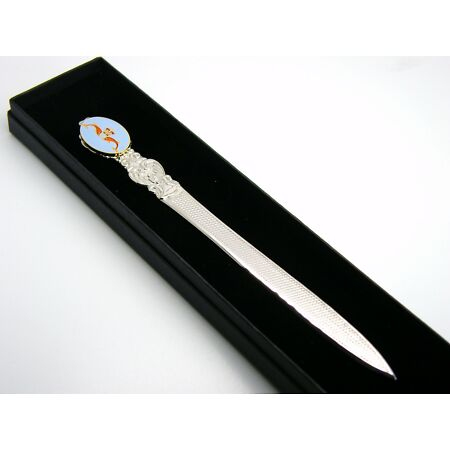 img-THE ROYAL NAVY SUBMARINER BADGE LETTER OPENER MILITARY GIFT IN BOX