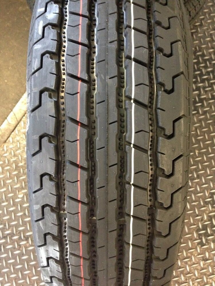4 NEW ST 205/75R15 Zeemax 8 PLY Radial Trailer Tires 75R15 ...