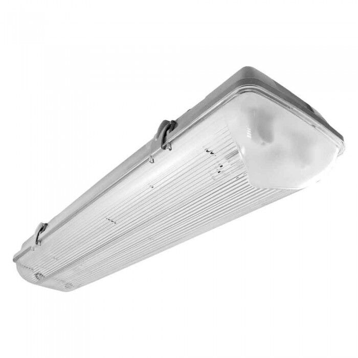 Fluorescent Light Covers 48 X 16: 4ft TWIN 2 X 36w IP65 HF NON CORROSIVE WATERPROOF