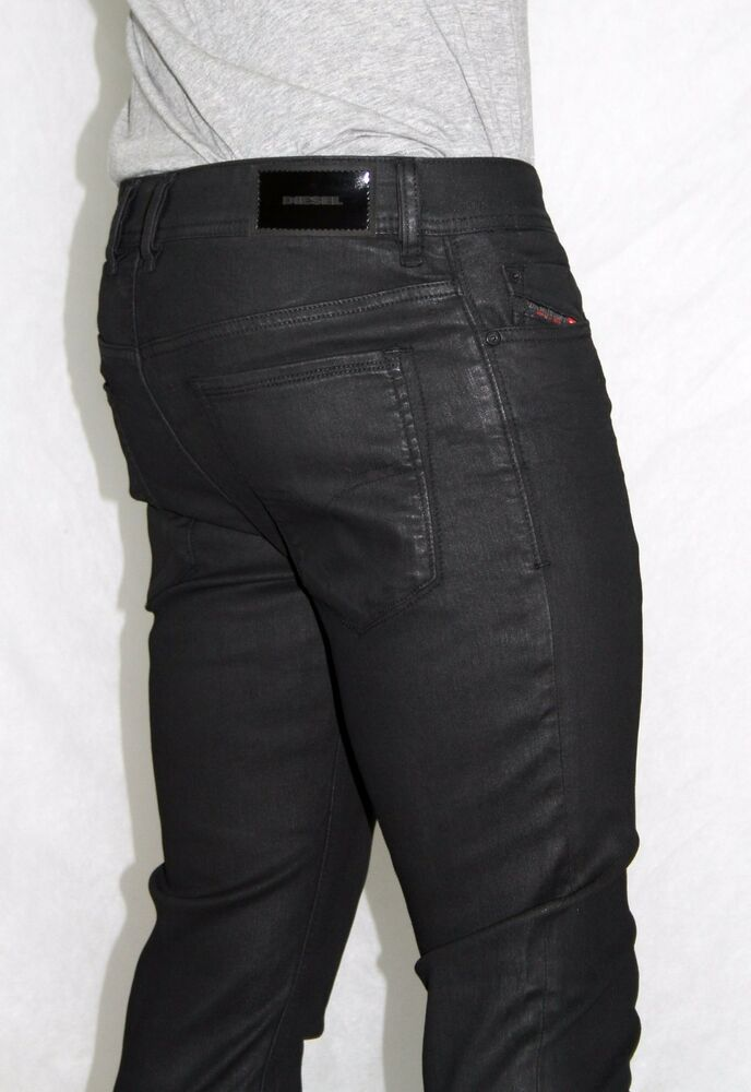 nwt diesel mens slim skinny sleenker 663q stretch coated