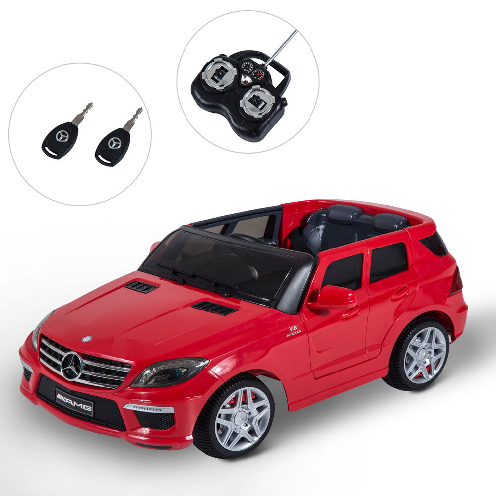 Ride On Toy Car : Kids electric v benz ride on toy car w remote control