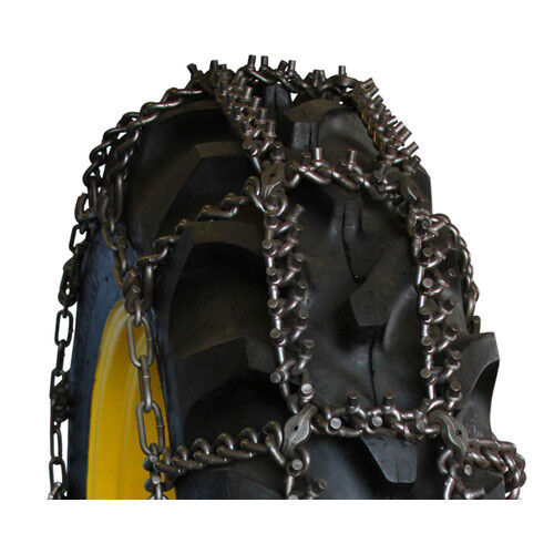 rud tractor talon studded 14 9 24 tractor tire chains 14924ast ebay. Black Bedroom Furniture Sets. Home Design Ideas