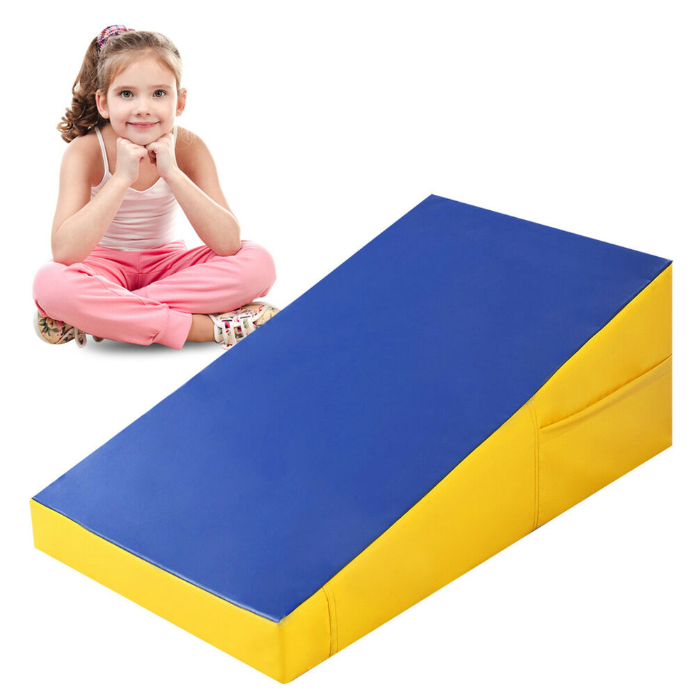 Goplus Incline Gymnastics Mat Wedge Ramp Gym Sports