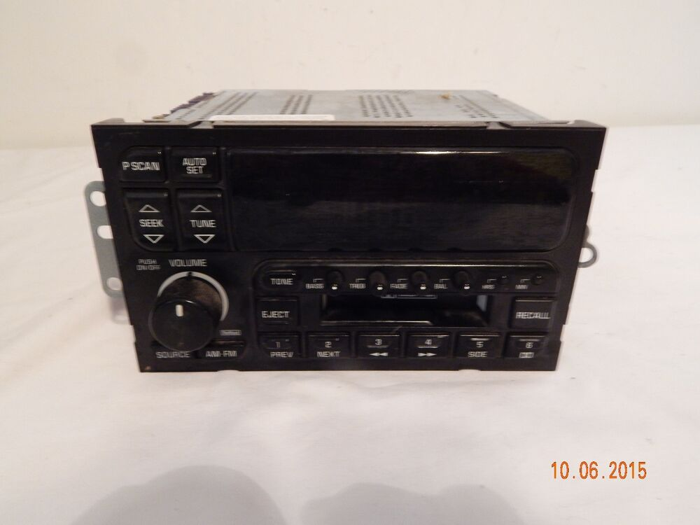 Gm Factory Oem Am Fm Stereo Cassette Player 16165194 Delco