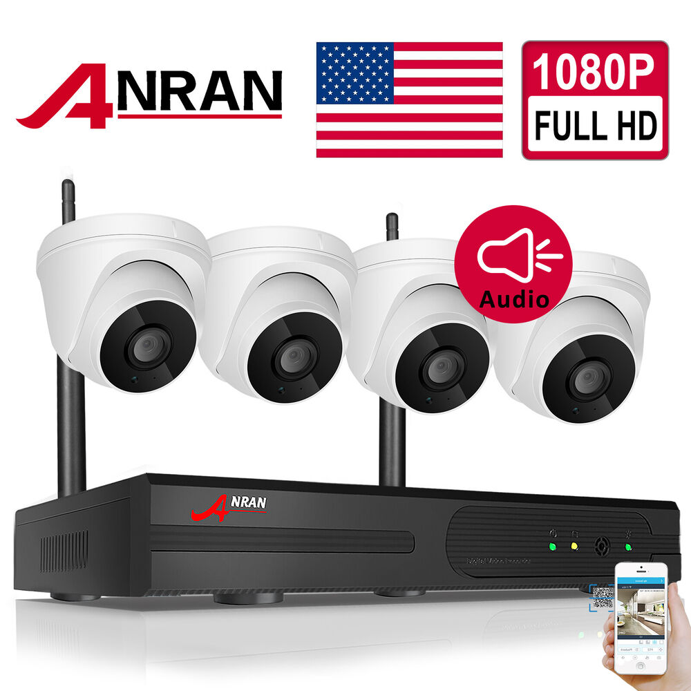 Anran Ip 1080p Hd Wireless Security Camera System 8ch Nvr