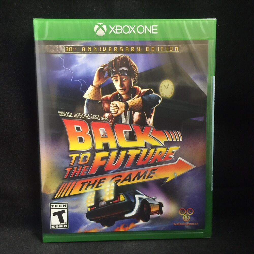 Tomb Raider Definitive Edition For Xbox One And Ps4 4k Hd: Back To The Future The Game 30th Annversary Edition (Xbox