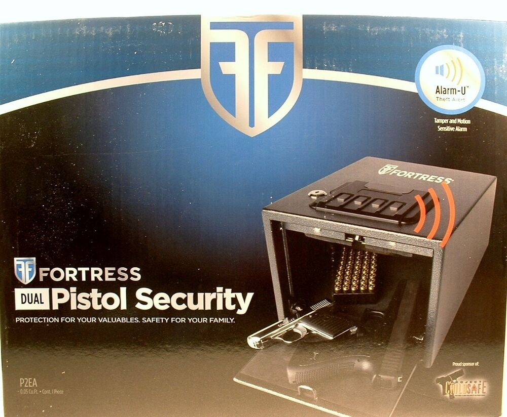 New Fortress Pistol Security Safe Valuables Gold Silver