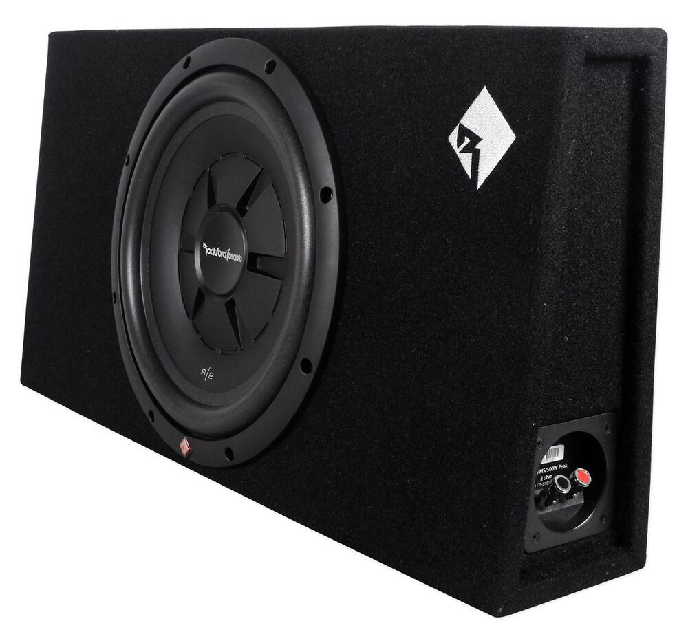 rockford fosgate r2s 1x12 single 12 500w 2 ohm sealed. Black Bedroom Furniture Sets. Home Design Ideas